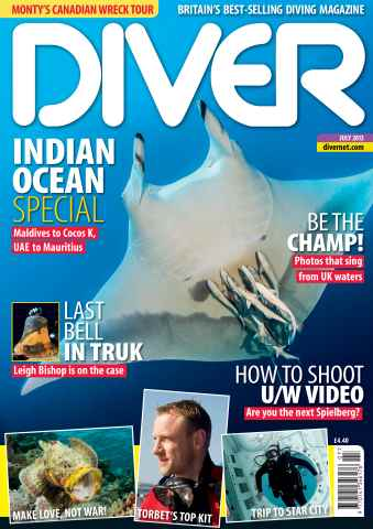 DIVER issue JULY 2013
