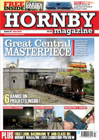 Hornby Magazine issue July 2013
