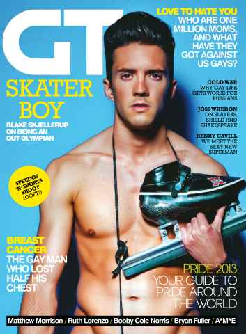 Gay Times issue July 13