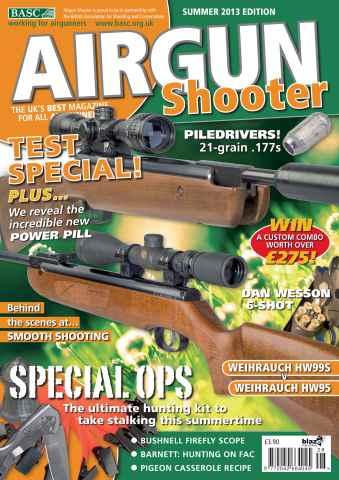 Airgun Shooter issue Summer 2013