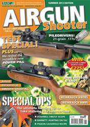 Airgun Shooter issue Summer 2013
