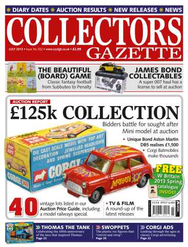 Collectors Gazette issue July 2013