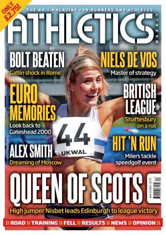 Athletics Weekly issue AW June 13 2013