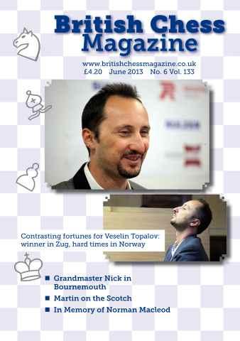 British Chess Magazine issue June 2013