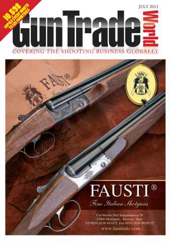 Gun Trade World issue July 2013