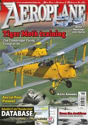 Aeroplane issue No.484 Tiger Moth Trainers