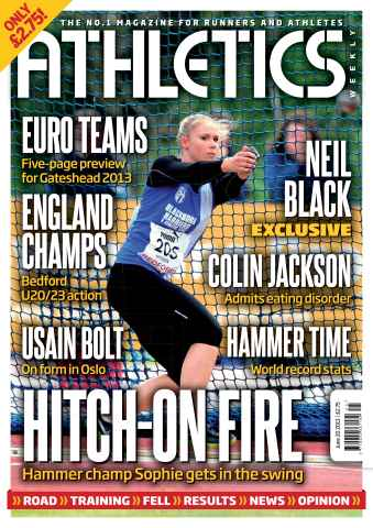 Athletics Weekly issue AW June 20 2013