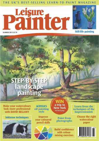 Leisure Painter issue Summer 2013 with supplement