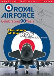 Royal Air Force - 90 Years issue Royal Air Force - Celebrating 90