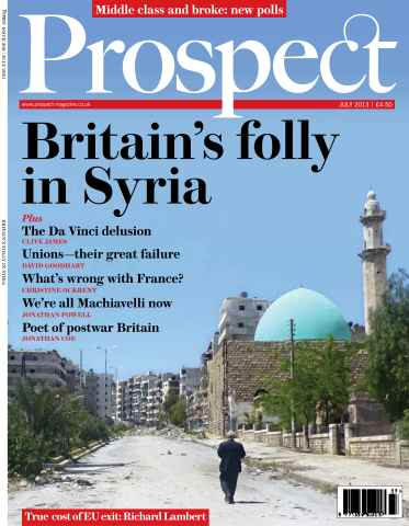 Prospect Magazine issue 208 - July 2013