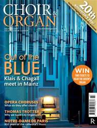 Choir & Organ issue July - August 2013
