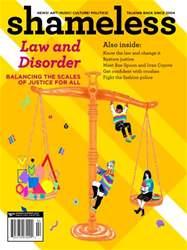 Shameless Magazine issue Spring-Summer 2013