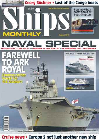 Ships Monthly issue Ships Monthly August 13