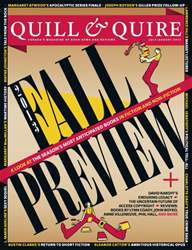 Quill & Quire issue July August 2013