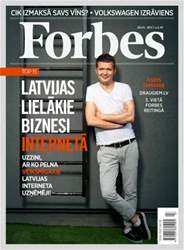Forbes jūlijs '13 issue Forbes jūlijs '13