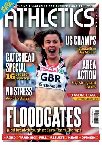 Athletics Weekly issue AW June 27 2013