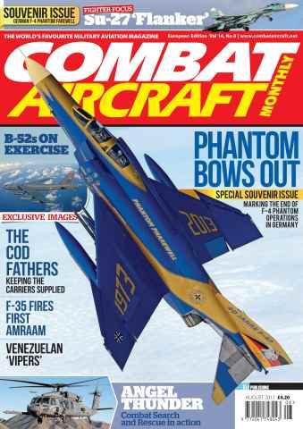 Combat Aircraft issue Vol 14 No 8