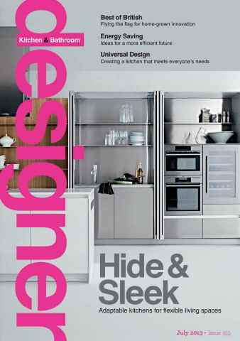 Designer Kitchen & Bathroom issue July 2013