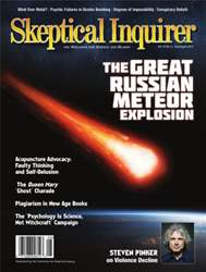 Skeptical Inquirer issue July August 2013