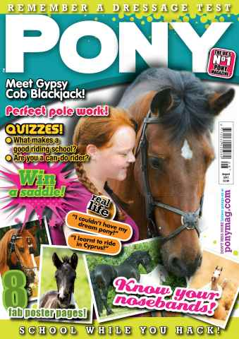 Pony Magazine issue August 2013