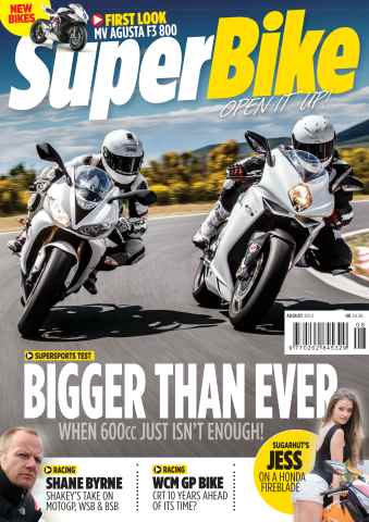 Superbike Magazine issue Summer 2013