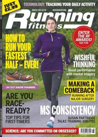Running Fitness issue Running Fitness August 2013