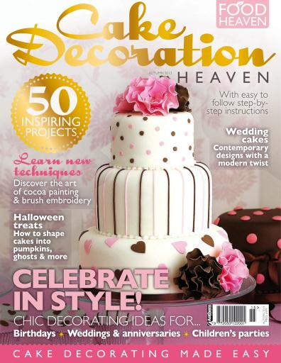 Decorating Magazines Cake Decorating Heaven Magazine Cake Decoration Heaven