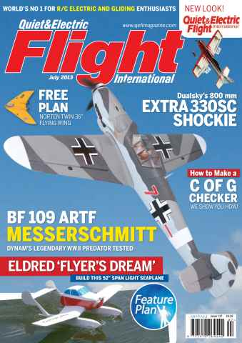Quiet & Electric Flight Inter issue July 2013