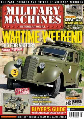 Military Machines International issue August 2013