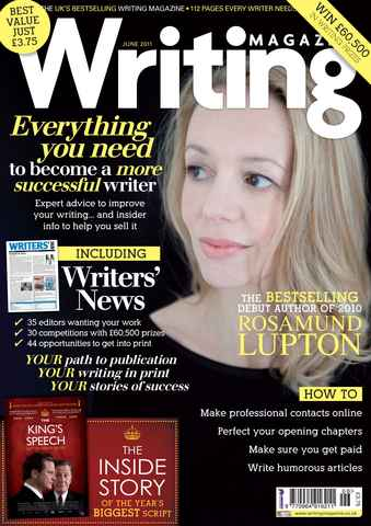 Writing Magazine issue June 2011