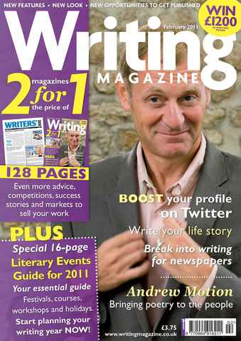 Writing Magazine issue February 2011
