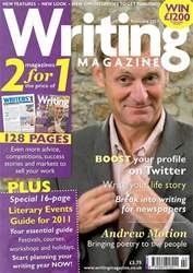 Writing Magazine issue February 2011