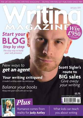 Writing Magazine issue January 2011