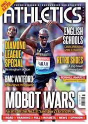 Athletics Weekly issue AW July 4 2013