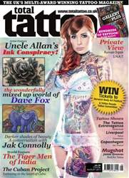 Total Tattoo issue August 2013 (No. 106)
