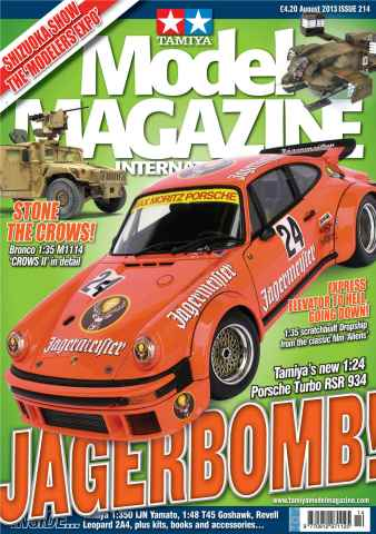 Tamiya Model Magazine issue 214
