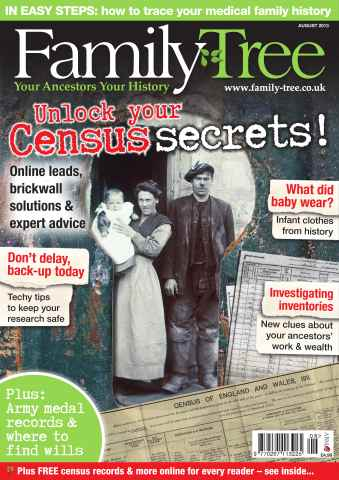 Family Tree issue Family Tree August 2013