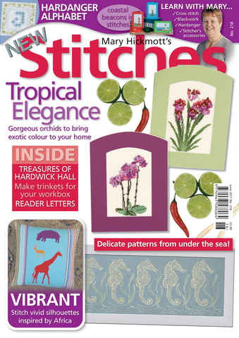New Stitches issue Issue 218