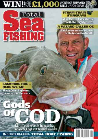 Total Sea Fishing issue August 2013