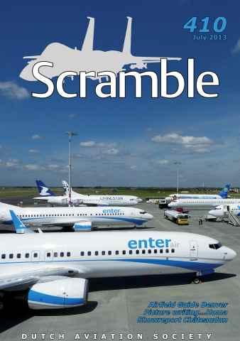 Scramble Magazine issue 410 - July 2013