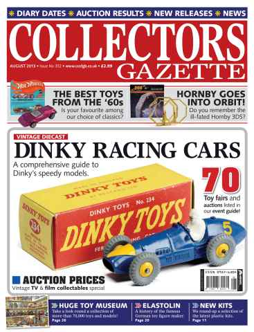 Collectors Gazette issue August 2013