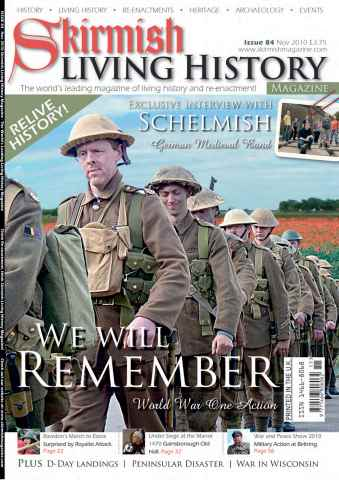 Skirmish Living History issue Issue 84