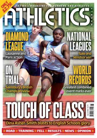 Athletics Weekly issue AW July 11 2013