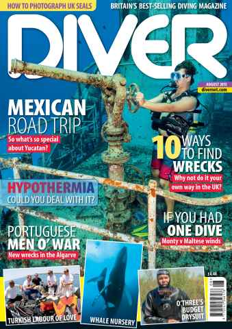 DIVER issue AUGUST 2013