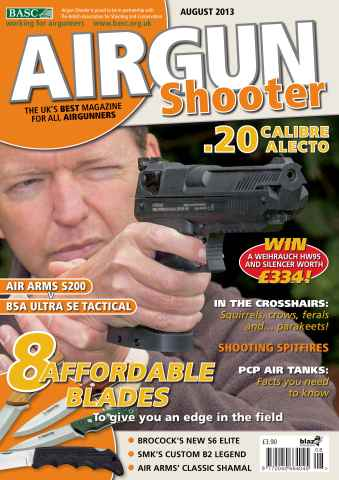 Airgun Shooter issue August 2013