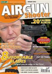Airgun Shooter issue August 2013