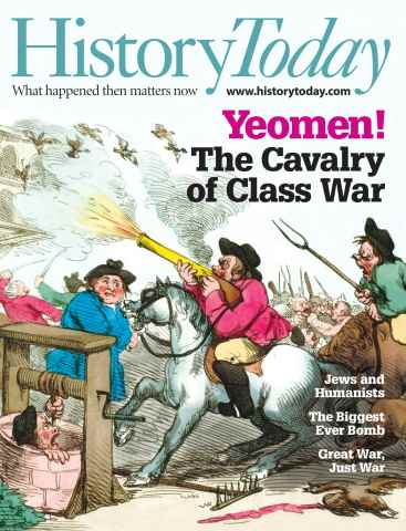 History Today issue August 2013