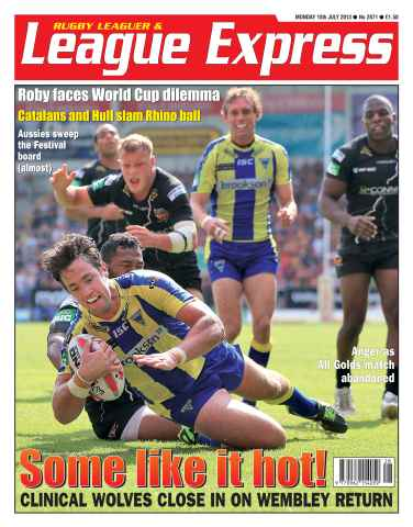 League Express issue 2871