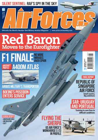 AirForces Monthly issue August 2013