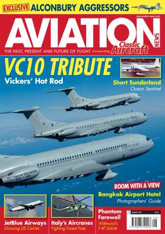 Aviation News issue August 2013